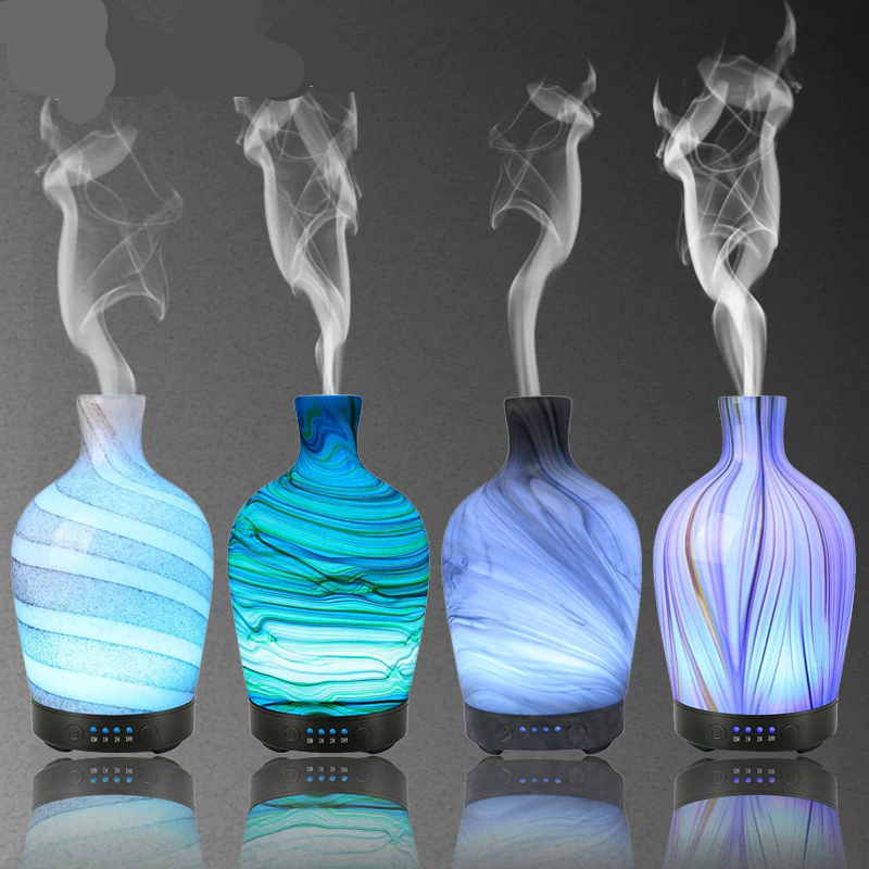 Glass Aromatherapy Humidifier Essential Oil Diffuser